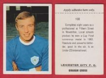 Leicester City Graham Cross 108
